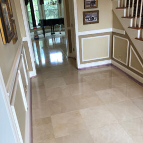 Residential Tile Cleaning by Extreme Rocks