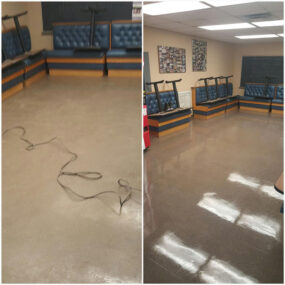 Classroom Floor Cleaning and Sanitation