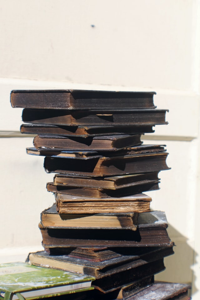 Books Covered in Soot Fire and Smoke Restoration