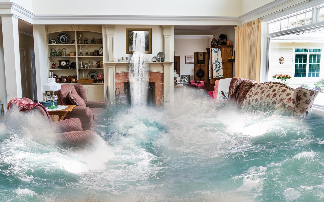 flood or storm damage repair